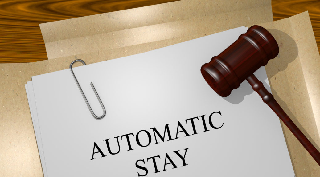 AUTOMATIC STAY Title On Legal Documents